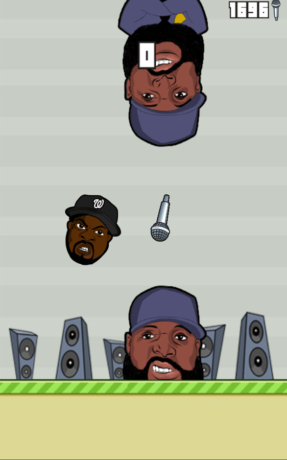 flappy rappers - collecting mics