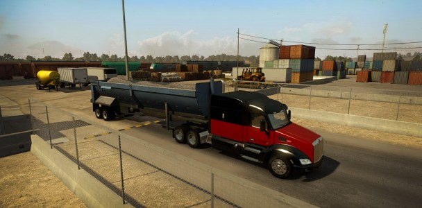 American truck simulator Trucks model 4