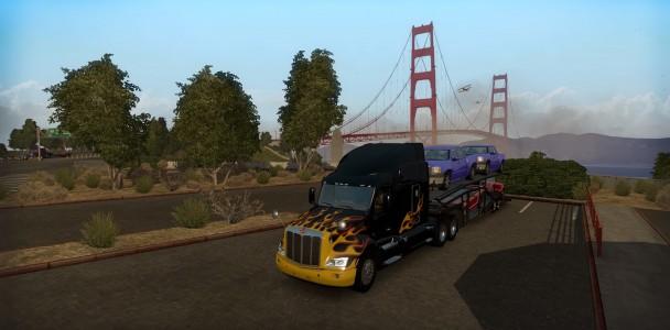 American truck simulator Trucks model 5