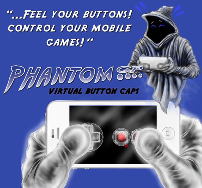 phantom GP Virtual feel button caps