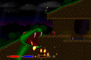 Red Wizard Island, a wizardy platformer
