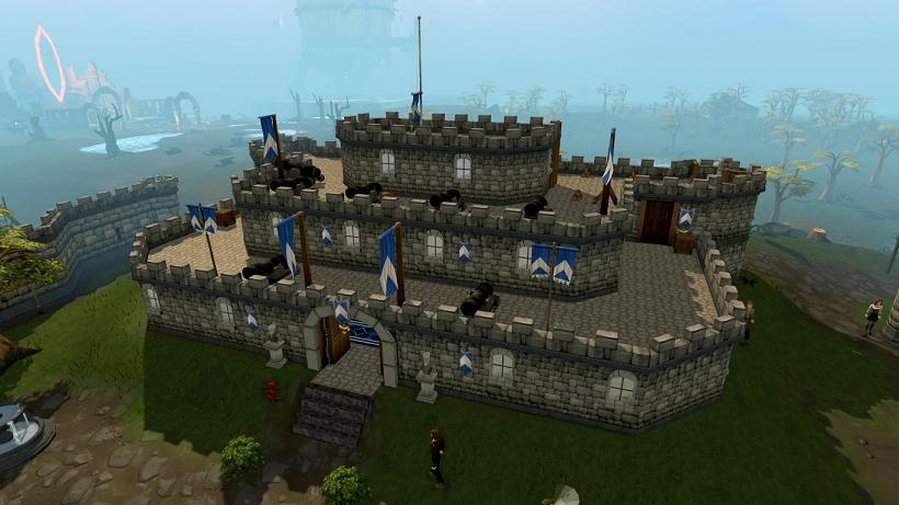 bank in Lumbridge Castle