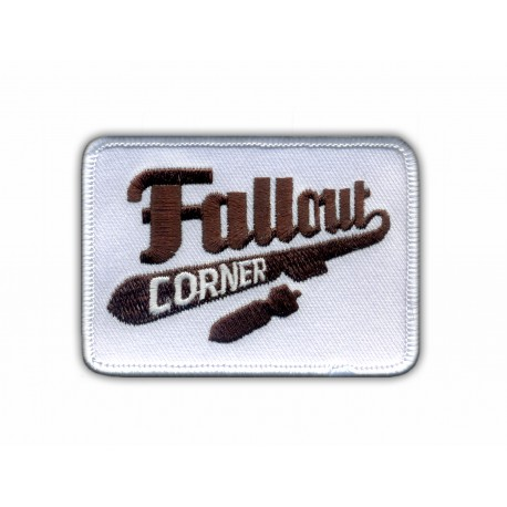 Fallout Corner Game-Related Embroidered Patch