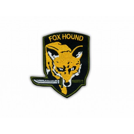 FOX HOUND Game-Related Embroidered Patch