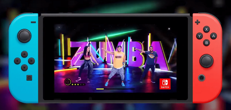 Get fit while dancing in your living room with Zumba: Burn It Up! on Nintendo Switch
