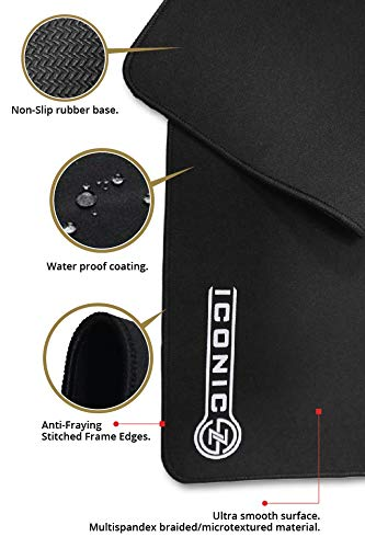 qualities of ICONIC PRO Gaming Mouse Pad