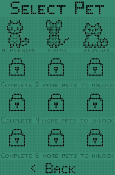 Catgotchi: Virtual Pet - initial 3 pets
